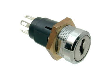 Mini Inline Key Switch Double Pole (Low Voltage) 5023